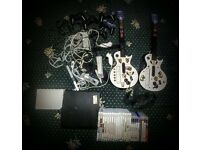 PlayStation 3 PS3, Nintendo Wii, guitar hero two guitars, controllers, loads of games...