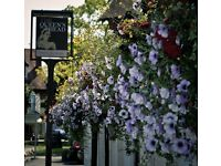 Cleaner required for The Queen's Head in Weybrydge. £10/per hour