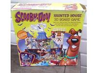 Scooby Doo Haunted House 3D Board Game