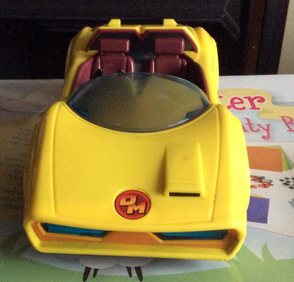 Dangermouse Car Kids Classic Tv Series 80s 90s Beloved Hero 15 No Offers