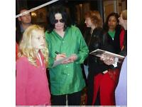 Michael Jackson authentic autograph for sale