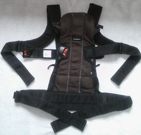 BabyBjorn baby carrier WE, black cotton