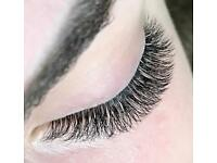 Eyelashes extension / Russian Volume /