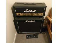 Marshall TSL100 Valve Guitar Amplifier and 1936 Speaker Cabinet, (JCM 2000 TSL 100 Amp & Cab)