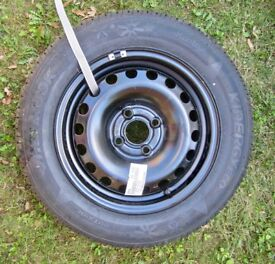 VW UP Spare Wheel, Tyre & Tools
