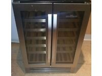 Beautiful wine cooler good as new!!!can hold up to 30 wine bottles