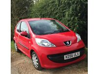 Peugeot 107 FOR SALE - very low mileage, fantastic small car!