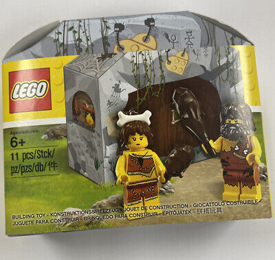 Lego 5004936 Caveman and Cavewoman New Sealed