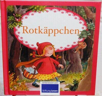 Rotkäppchen und der Wolf + Erstes Lesen und Vorlesen mit farbigen Bildern +
