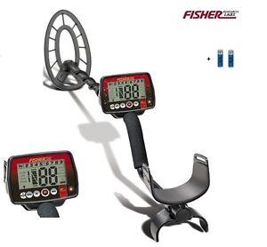Fisher F44 Metalldetektor Tiefensonde Metallsuchgerät Fischer F-44 Detector Neu!