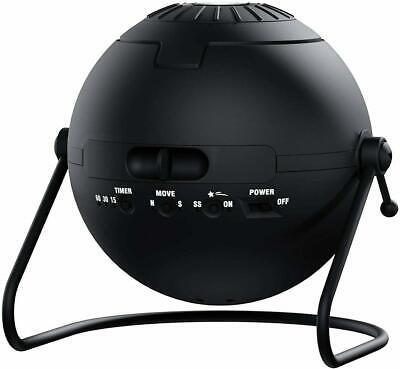 Sega Toys Homestar Flux (Satin Black) Home Planetarium Star Projector Newest Ver