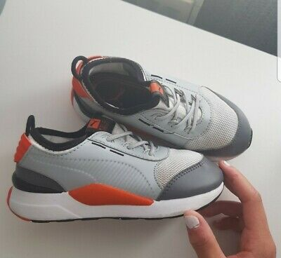 boys puma trainers infant size 9