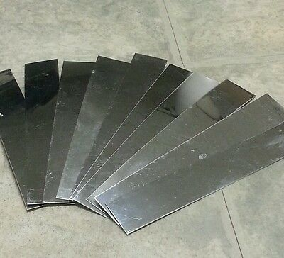 .015 Shim Stainless Steel Strip 5 Pieces 1 X 6 Long 0.015 015
