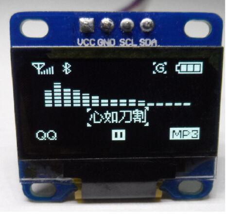 "0.96"" I2C IIC SPI Serial 128X64 White OLED LCD LED Display Module for Arduino FD"