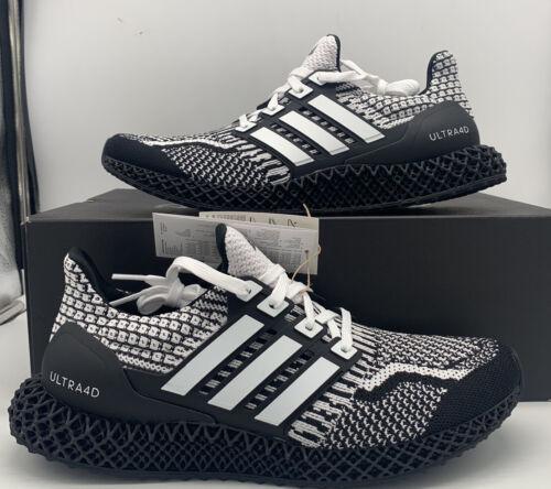 Adidas Ultra 4D 5.0 Running Boost Cookies Oreo Black White G
