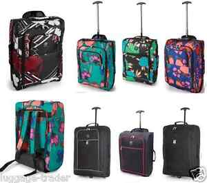 airline cabin size hand luggage carryon cabin bag backpack wheel trolley ryanair ebay. Black Bedroom Furniture Sets. Home Design Ideas