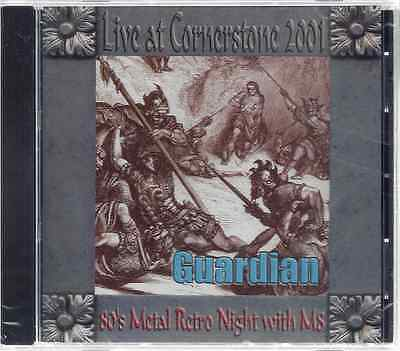 Guardian Live At Cornerstone 2001 Christian Metal  Brand New Factory Sealed