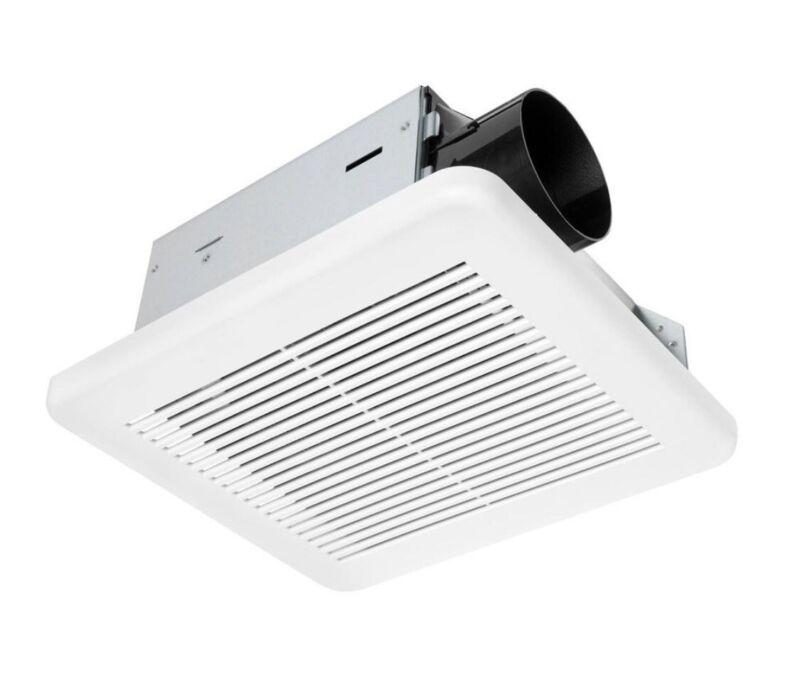 Hampton Bay 50 CFM Bathroom Exhaust Fan Small Room In White Model 7114-01