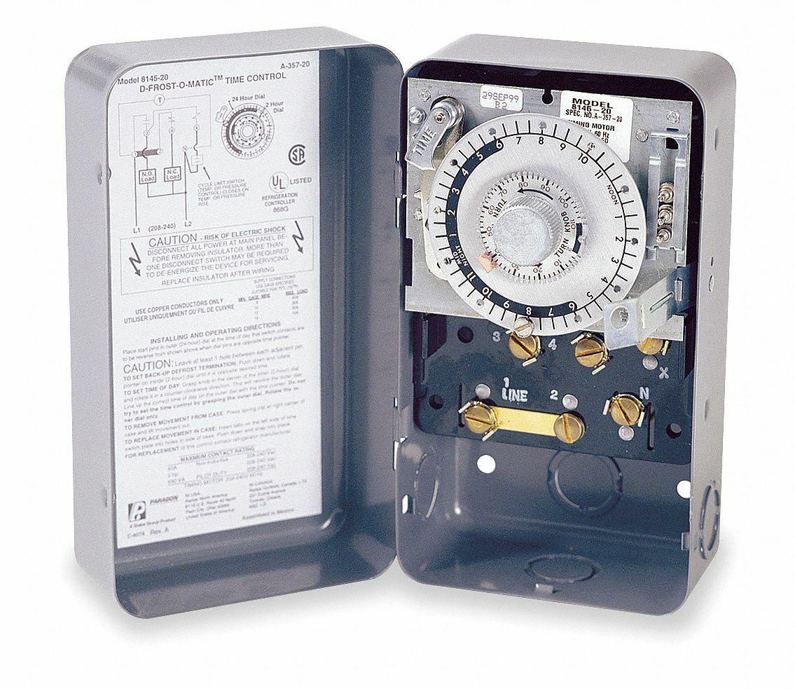 paragon 8141 00 timer defrost 120v 1 no 2nc for sale online ebay