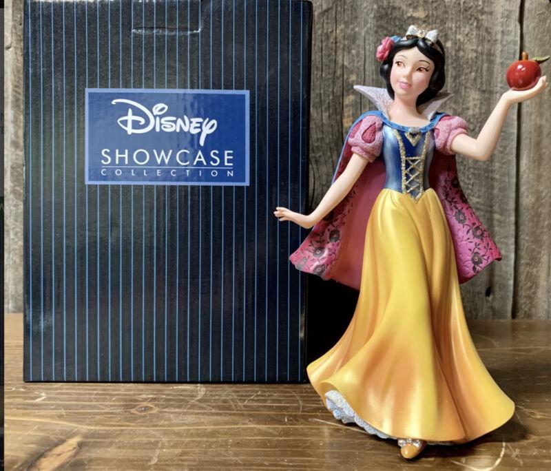 Enesco Disney Showcase Couture de Force Snow White Figurine #4031542 NIB Retired