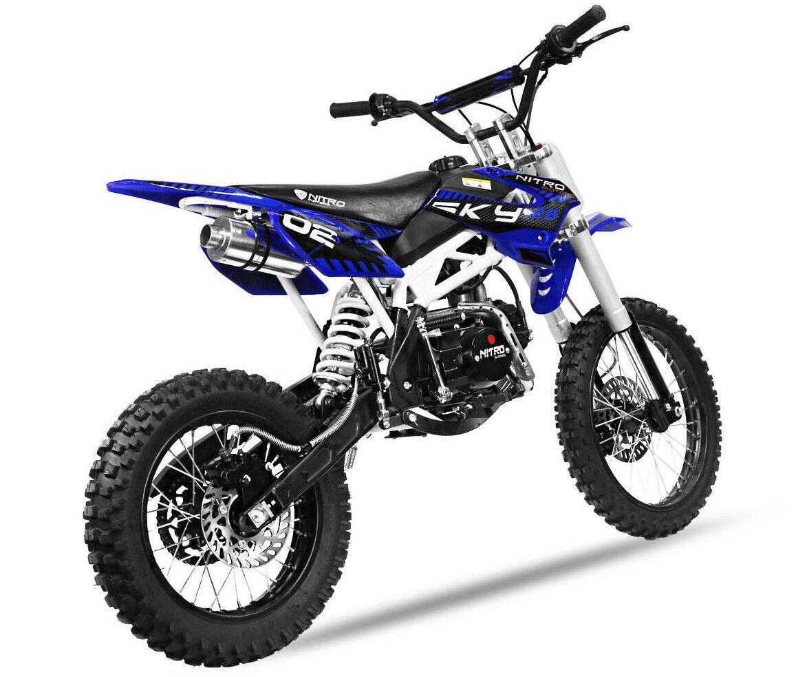 49-125 ccm  Bremsbeläge vorne Typ 13 Moto Cross Dirt Bike Pit Bike HMParts