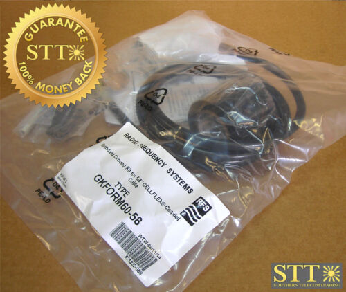 """Gkform60-58 Rfs Ground Kit For 5/8"""" Coax Cable 5 Ft New"""