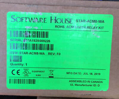 Software House Istar Pro Acm - Star-acm8-wa