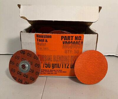 3 50 Grit Turbine Sanding Disc Box Of 50 Quick Disc Type S New