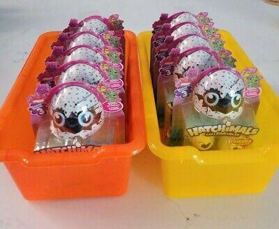 Hatchimals Colleggtibles Surprise Eggs (2 Eggs + NEST) Season 3, Lot Of 10