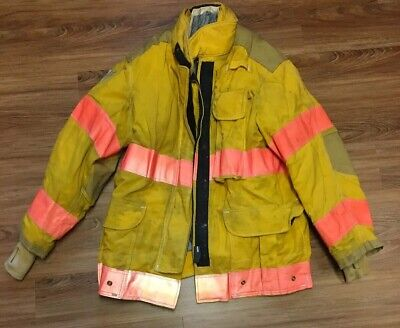 Janesville Firefighter Jacket Coat Bunker Turn Out Gear 4432r