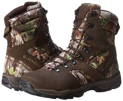 "Boots - Lacrosse 536010 Quick Shot Waterproof 8"" Realtree Xtra Green Boots"