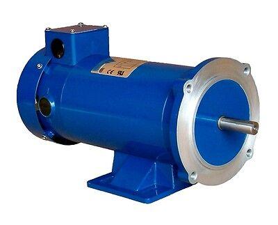Dc Motor 12hp 56c 24v 1750rpm Tefc Permanent Magnet