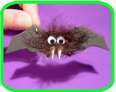 Halloween Hairy Vampire  BAT