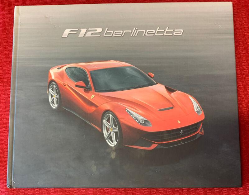 F12 berlinetta Hardcover Book