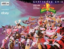 MIGHTY MORPHIN POWER RANGERS #25 SHATTERED GRID EBAY / JESSE JAMES EXCLUSIVE