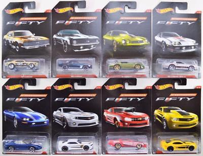 NEW Mattel Hot Wheels Camaro Fifty - Collect Them All 1 - 8