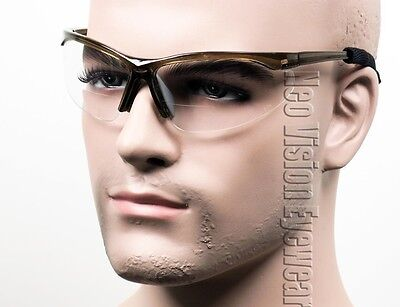 Erb Pinpoint Bifocal Safety Glasses Reader Reading Magnifier W Cord Clear Smoke