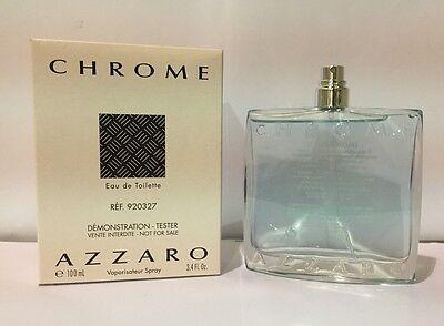 Chrome By Loris Azzaro 3 4 Oz Edt Spray Brand New Tester Cologne For Men