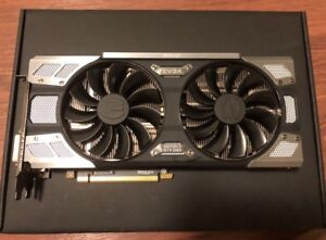 EVGA GTX 1080 almost new with box