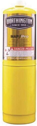 (3) Worthington MAPP/PRO  gas bottle 14.1oz