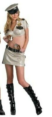 RENO 911 FEMALE DEPUTY DELUXE ADULT HALLOWEEN COSTUME WOMENS SIZE LARGE 6389