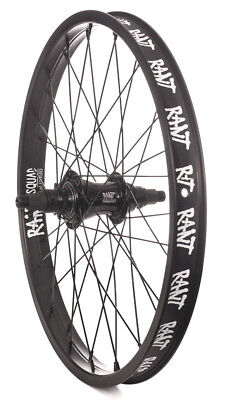 "RANT MOONWALKER 22"" FREECOASTER WHEEL BMX BIKE CULT SUBROSA WTP HARO RHD BLACK"