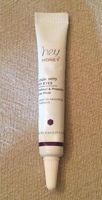 Hey Honey Look Into My Eyes Retinol Eye Mask 8mL 0.27fl oz Ipsy NEW