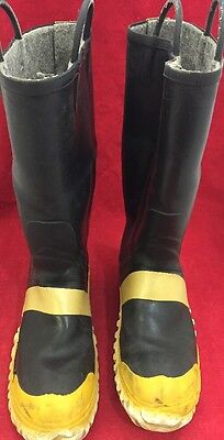 Servus Firefighter Fire Fighter Boots Various Sizes Good Condition See Listing