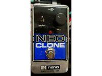 Electro Harmonix Neo Clone guitar pedal