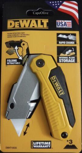 Dewalt DWHT10035 Folding Retractable Utility Knife