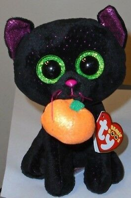 Ty Beanie Boos - POTION the Halloween Black Cat (6 Inch) 2018 NEW ~ IN HAND