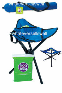 BOGINABAG BOG IN A BAG STOOL + BAGS folding portable toilet camping loo