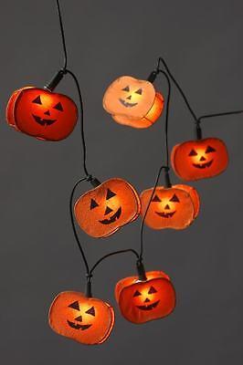 Halloween- Lichterkette 10 flammig Dekoleuchte Dekolampe Dekoration Fensterdeko