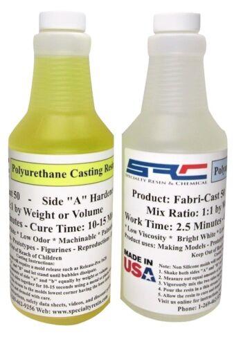 Fabri-Cast 50 Urethane Casting Resin Ultra Low Viscosity 32 ounces